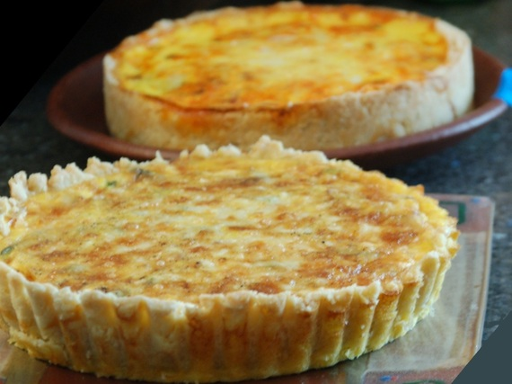 For page 25 26 quiche met salami